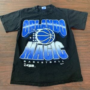 Vintage 90's Orlando Magic shirt single stitch